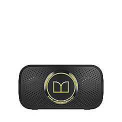 Monster - Superstar Bluetooth speaker - Black with neon green