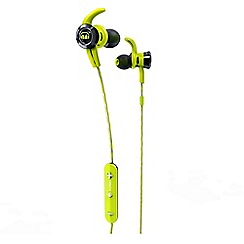 Monster - Green iSport victory in-ear bluetooth headphones