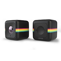 Polaroid - Black cube life action camera plus Wi-Fi