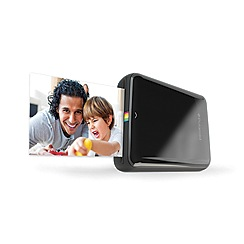 Polaroid - Black zip mobile printer - black