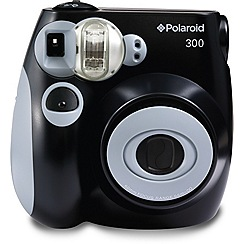 Polaroid - Black pic-300 instant print camera