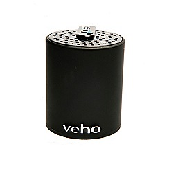 Veho - Black m-3 wireless portable bluetooth speaker