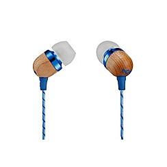 Marley - Denim smile Jamaica in ear headphones