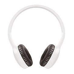 Jam - White 'Transit Lite' over ear wireless bluetooth headphones HX-HP400WT-EU