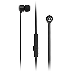 KitSound - Black 'Ribbons' in ear wireless bluetooth headphones KSRIBBTBK