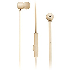 KitSound - Gold ribbons in-ear bluetooth headphones