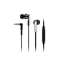 Sennheiser - Black cx 5.00 in-ear headphones