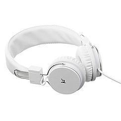 KitSound - White wireless bluetooth manhattan headphones KSMHNWH