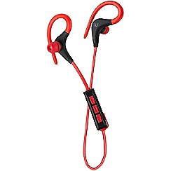 KitSound - Red race in-ear bluetooth sports headphones