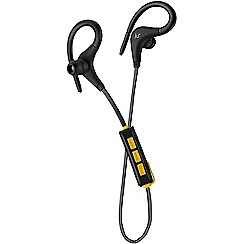 KitSound - Black race in-ear bluetooth sports headphones