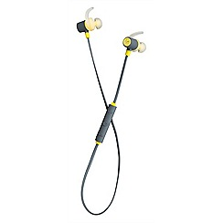 KitSound - Yellow outrun in-ear bluetooth sports headphones