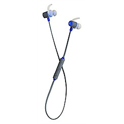 KitSound - Blue outrun in-ear bluetooth sports headphones