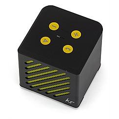 KitSound - Black mini tilt speaker