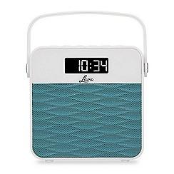 Lava - Turquoise FM radio & speaker