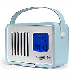 KitSound - Turquoise fm radio & speaker