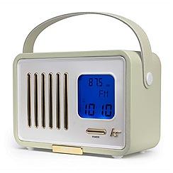 KitSound - Blue fm radio & speaker
