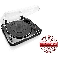 Lenco - Black turntable with USB direct recording L-85BK