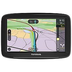 Tom Tom - Black VIA 52, 5inch U.K map sat nav