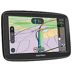Tom Tom - Black VIA 52, 5inch Western Europe map sat nav