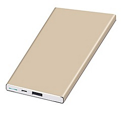 KitSound - Platinum 5000 MAH power bank PWRALU5GD