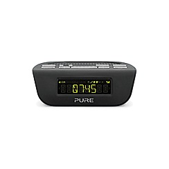 Pure - Siesta black Mi series 2 DAB and FM radio- VL-61775