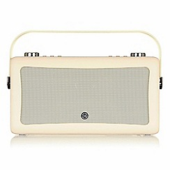 Viewquest - Hepburn MKII dab radio and bluetooth speaker cream VQ-HEPMKII-CR