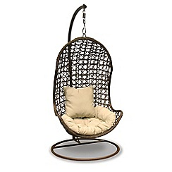 Debenhams - Brown hanging chair