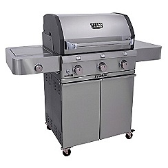 Charbroil - Silver 'T5000' gas barbeque with cover