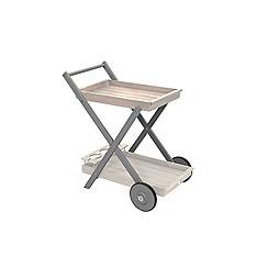 Debenhams - Grey 'Verdi' garden tea trolley