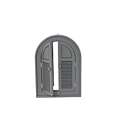 Debenhams - Grey 'Verdi' garden mirror