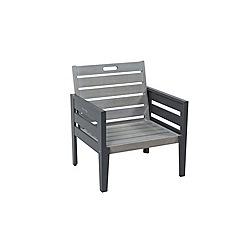Debenhams - Grey 'Verdi' garden lounge chair