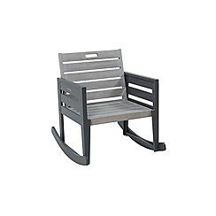 Debenhams - Grey 'Verdi' garden rocking chair
