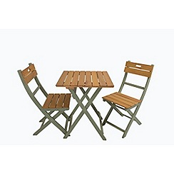 Debenhams - Green 'Verdi' bistro set