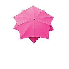 Debenhams - Fuchsia pink 'Lotus' 2.7m parasol