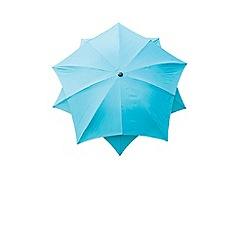 Debenhams - Aqua 'Lotus' 2.7m parasol
