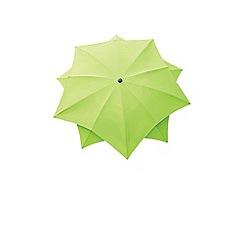 Debenhams - Lime green 'Lotus' 2.7m parasol