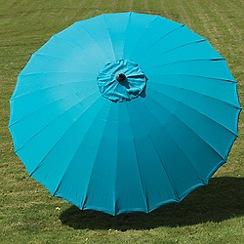 Debenhams - Aqua 'Geisha' 2.7m parasol