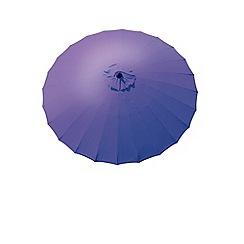 Debenhams - Purple 'Geisha' 2.7m parasol