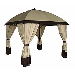 Debenhams - Beige 'Denver' gazebo