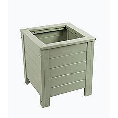 Debenhams - Green 'Verdi' square planter