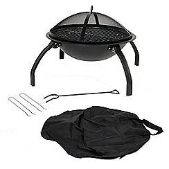 La Hacienda - Steel portable firepit