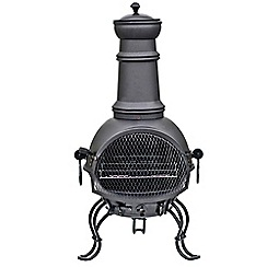 La Hacienda - Medium steel Murcia chimenea