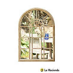 La Hacienda - Metal garden mirror