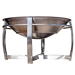 La Hacienda - Stainless steel firepit