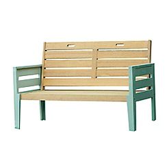 Debenhams - Green 'Verdi' garden bench