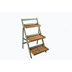 Debenhams - Green 'Verdi' folding potting shelf
