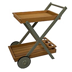 Debenhams - Green 'Verdi' garden tea trolley