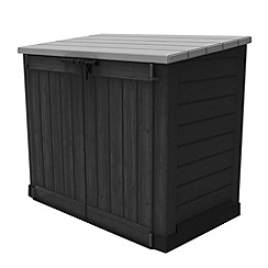Debenhams - Brown wood effect 'Hideaway' outdoor storage shed