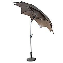 Debenhams - 'Lotus' 2.7m parasol