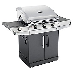 Charbroil - Silver and black 'Performance T-36G' barbeque with cover